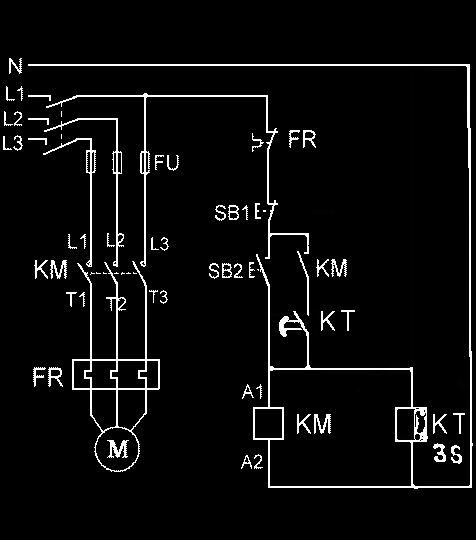 设计一个三相异步电动机的控制电路要求既能点动又能连动