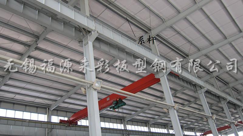 新手求助,在钢结构厂房中无法区分隅撑与系杆,求解答