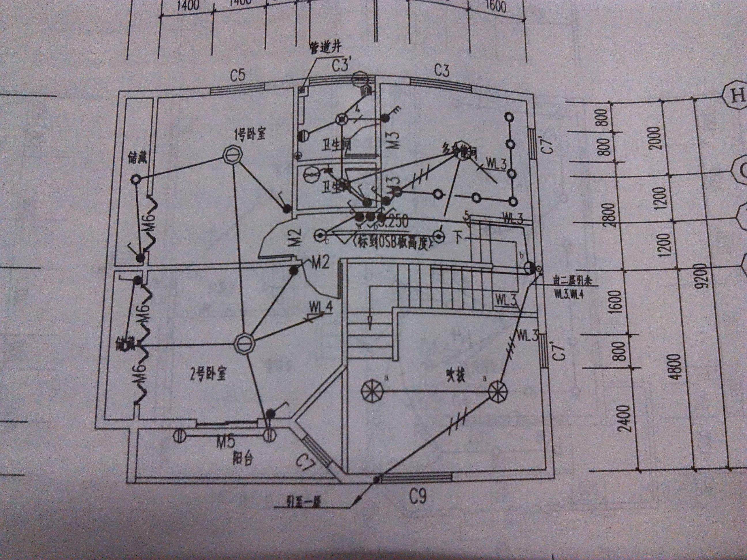 塔吊电路配线图