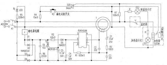 储水式电热水器原理及维修   储水式电热水器,水是通过电加热器