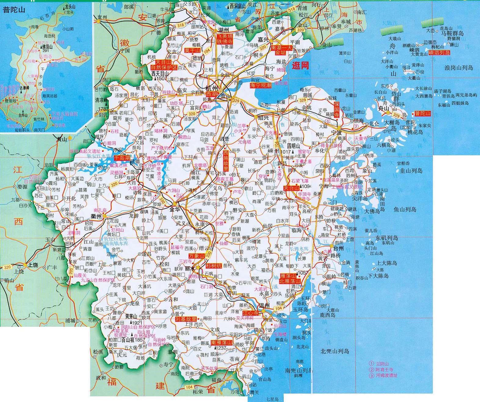 坐汽车,温州和杭州的中间是哪个城市?图片