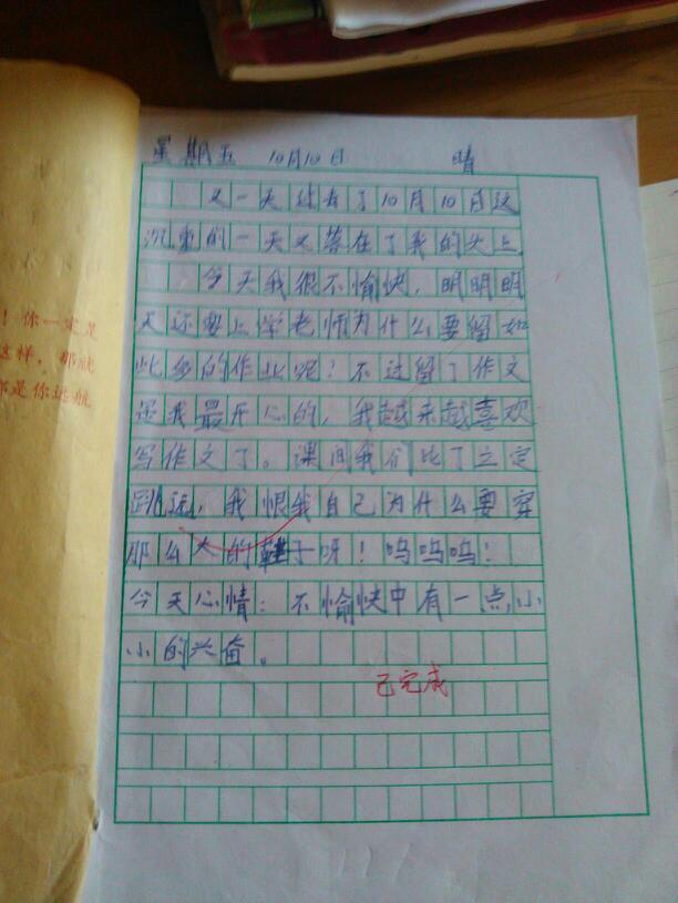 日记怎么写图片