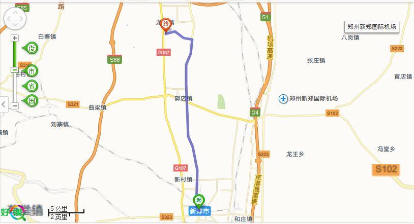 从新郑汽车站到龙湖一中远吗?
