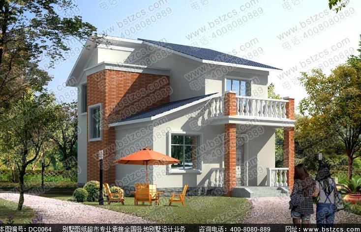 求一层半或两层农村自建房图纸,13米x19米宅基地〈东西方向13米〉图片