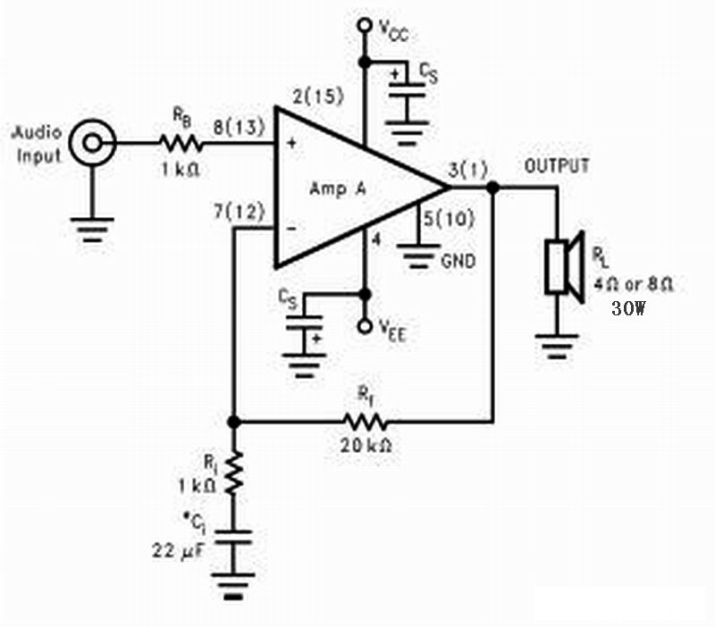 lm1875功放电路图