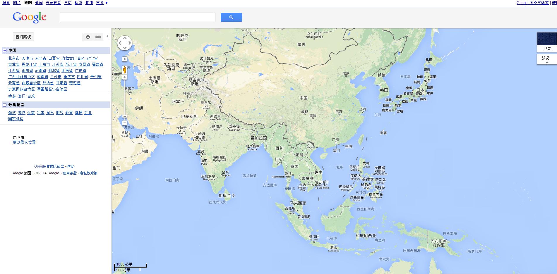 谷歌地图为什么在中国被屏蔽?而外国的不需要中国批准