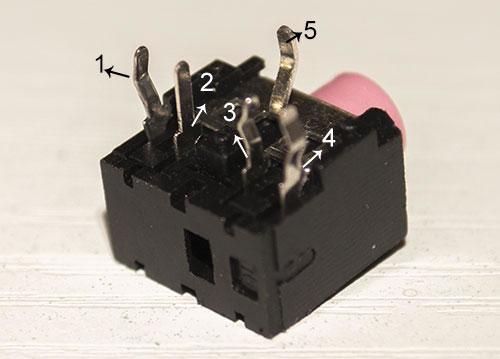 3.5音频aux插座怎么接线