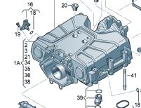 奥迪q7的机械增压是装在进气支管上面吗是什么样的有图片吗图片