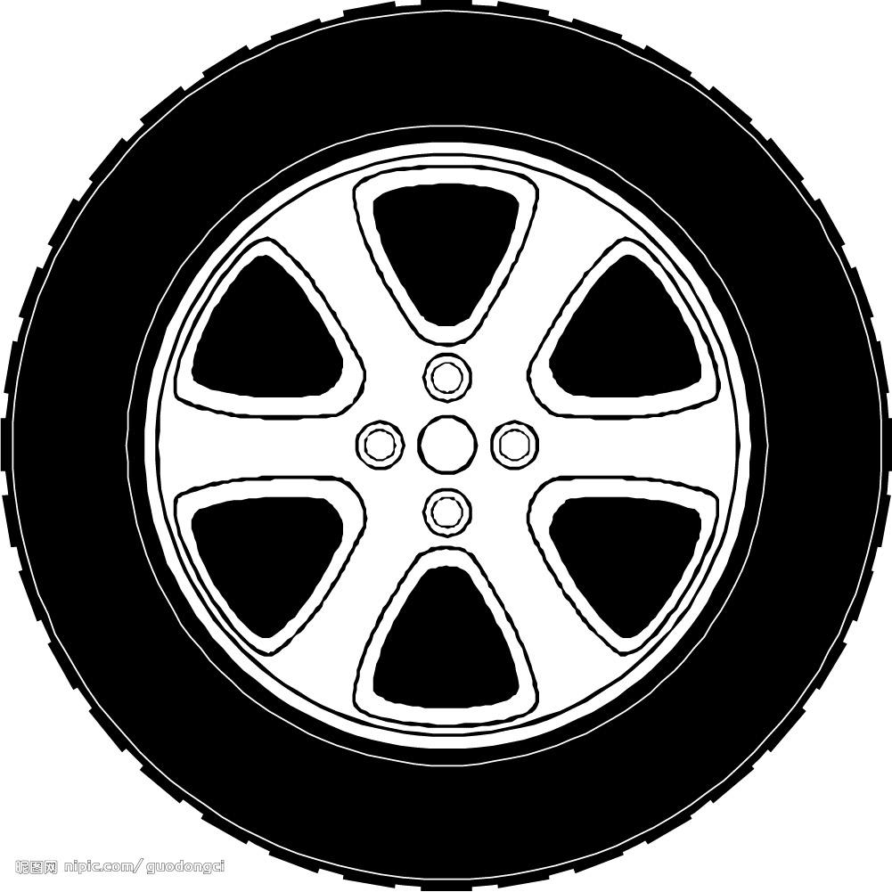 汽车轮胎怎么画