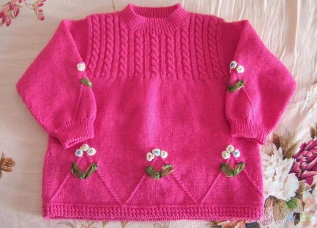 该书介绍了儿童的毛衣的编织款式,配色和棒针法等,款式齐全,式样新颖