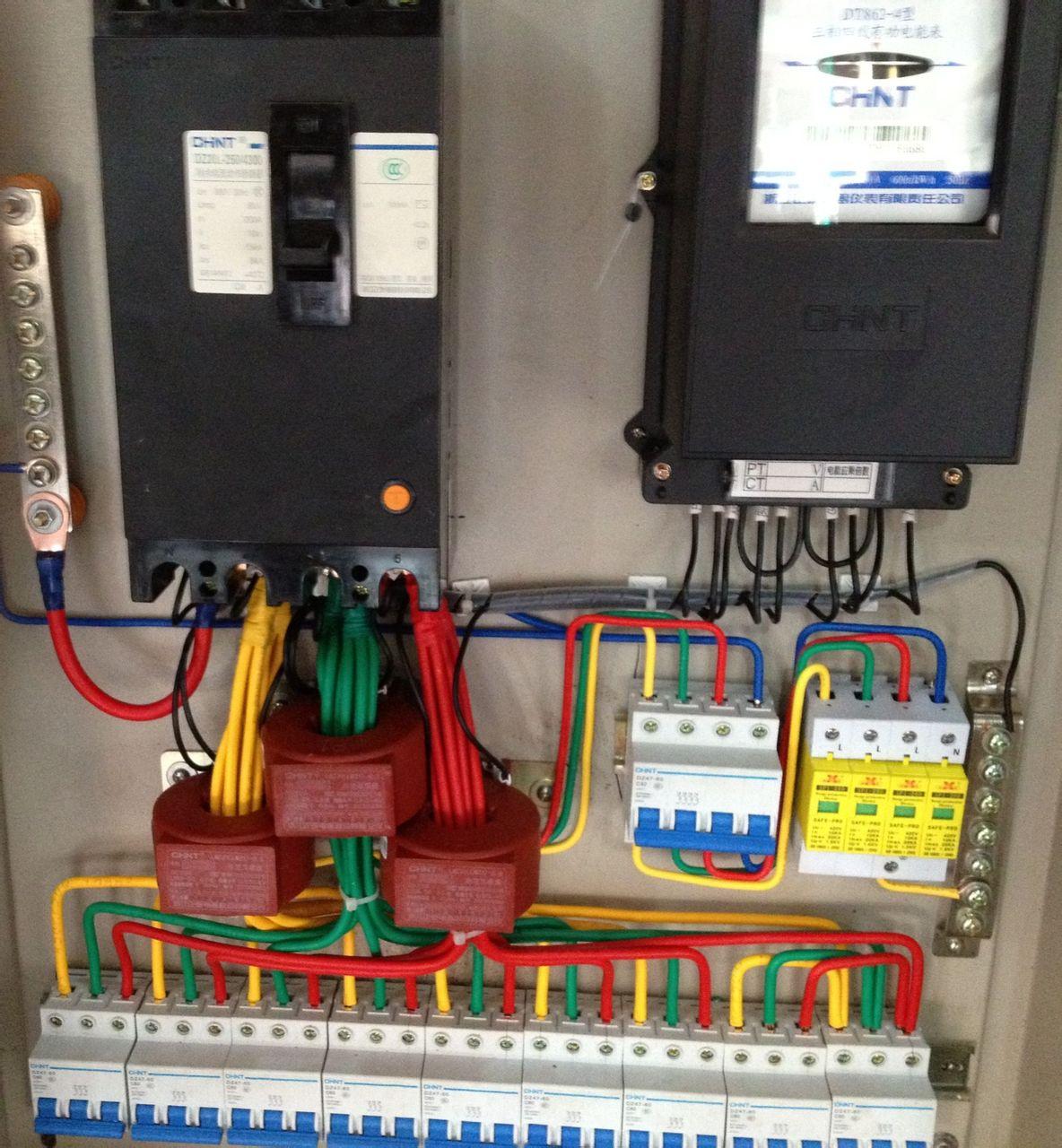 三相电表互感器接线图