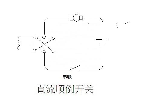 这是永磁式直流电机接法.如果是4接线还要确定串联还是并联.