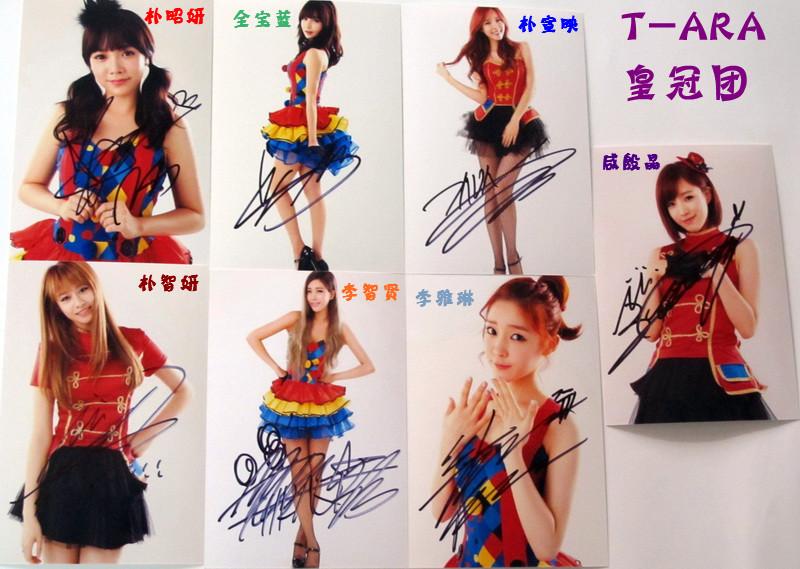 跪求:t-ara成员,谁能告诉我这几个照片里面 谁是谁