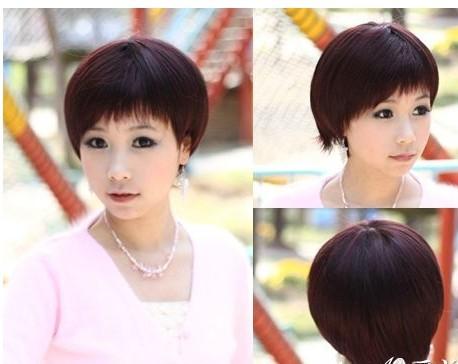 求短发发型(初一女学生)的