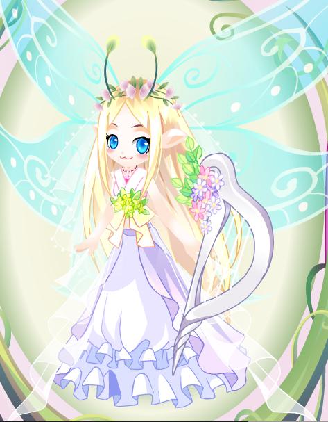 小花仙最漂亮的女装装扮(99级奇妙六级~爱心国的)别太