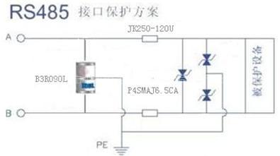 保护电路部分,为什么有时要在tvs管前再增加一个放电管?