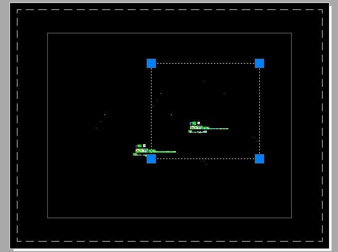 CAD面的布局内进入视口里空间视口_百度博克cad读图图片