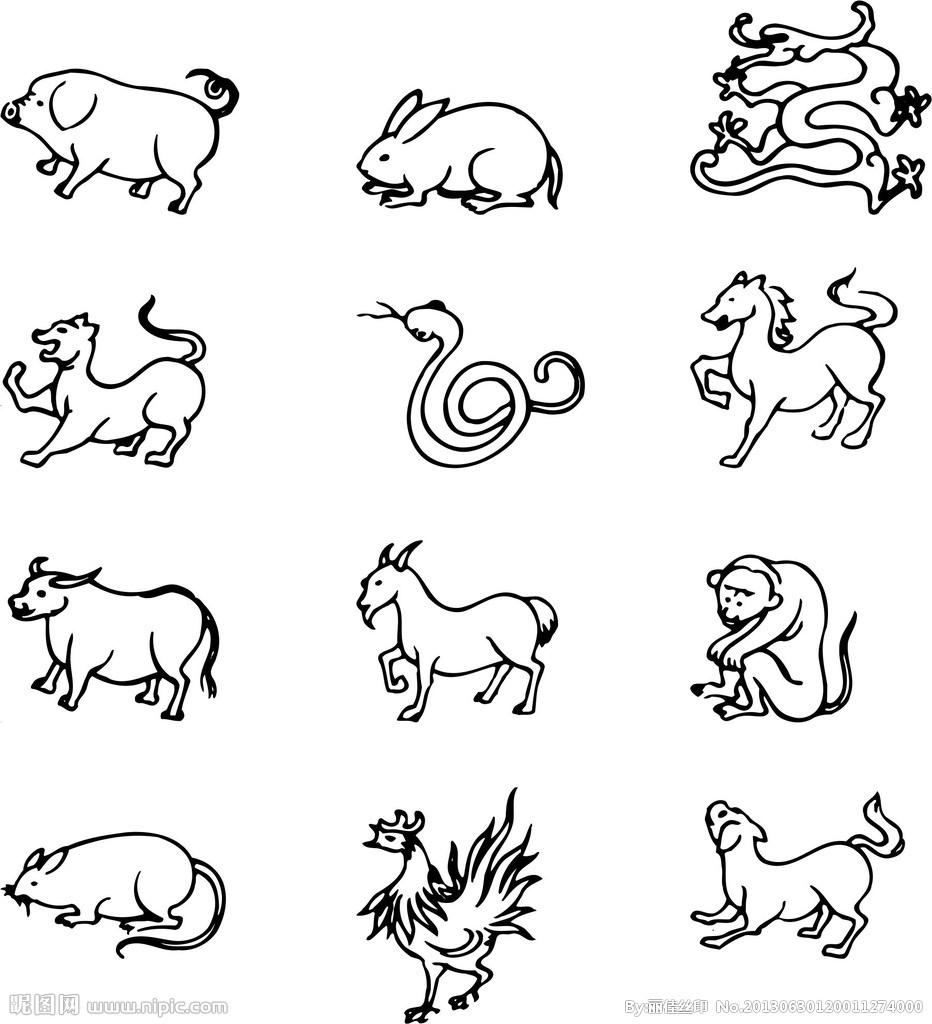 12生肖虎的简笔画怎样才能画的特别简单