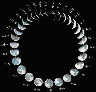 2011年8月16日的月亮是什么样的 图图片