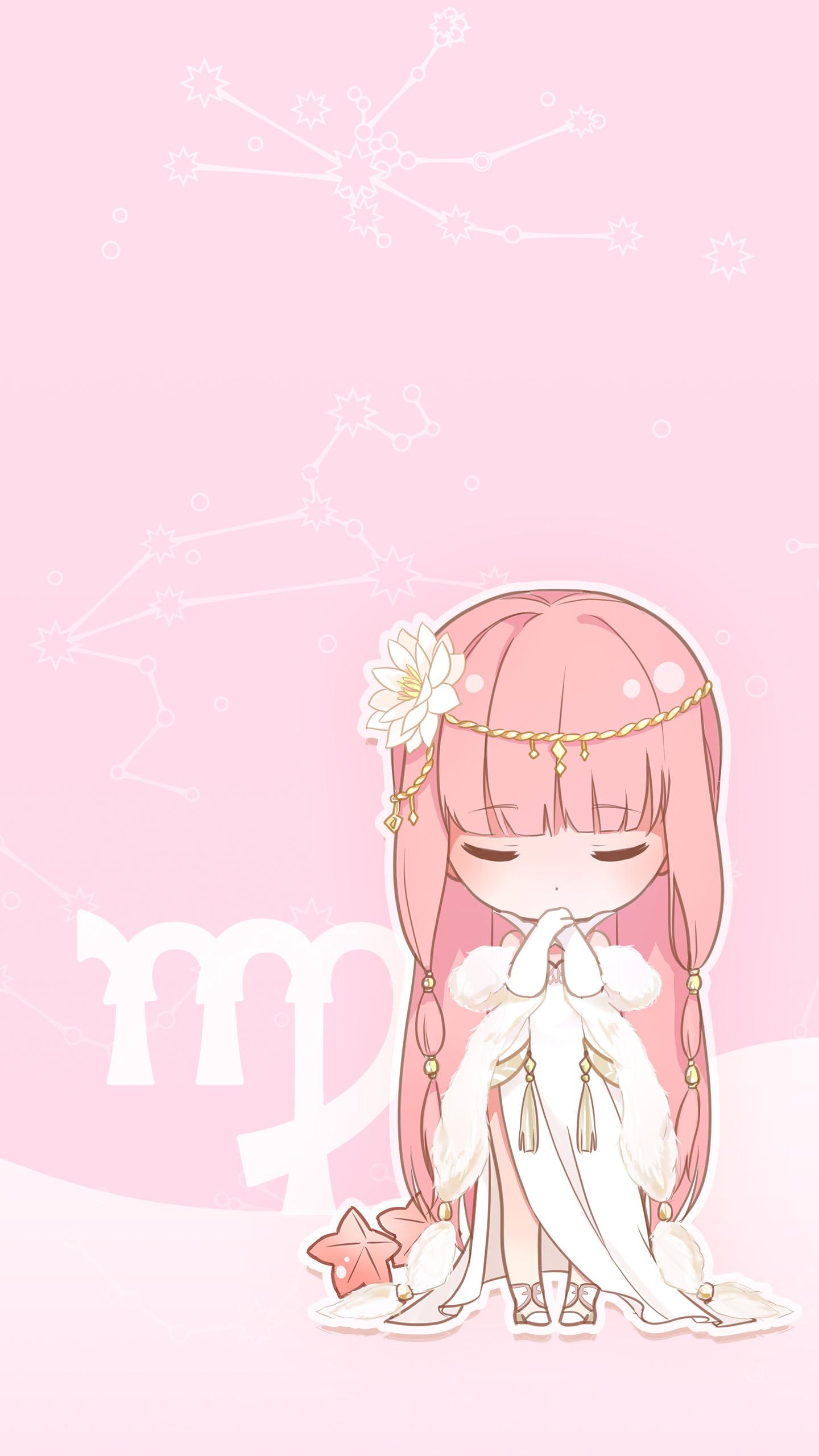 可爱漂亮萌萌哒漫画卡通人物小女生图片