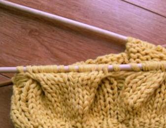 棒针帽子的编织方法