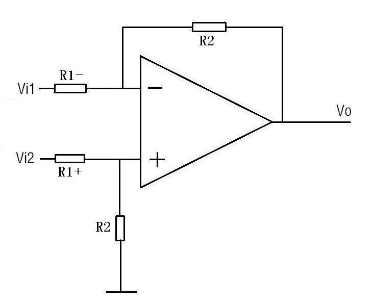 设计一个差动放大电路(运放或者三极管,最好是运放做一个,三极管做一