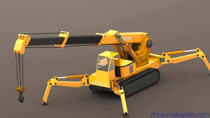 自行式起重机的设计外包图片