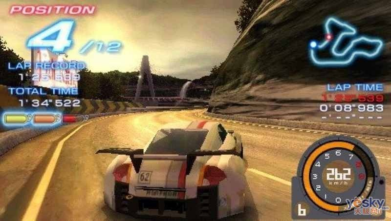 psp赛车游戏跑完可以回看的叫什么名字