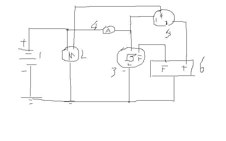 农用三轮车该电启动 线路问题