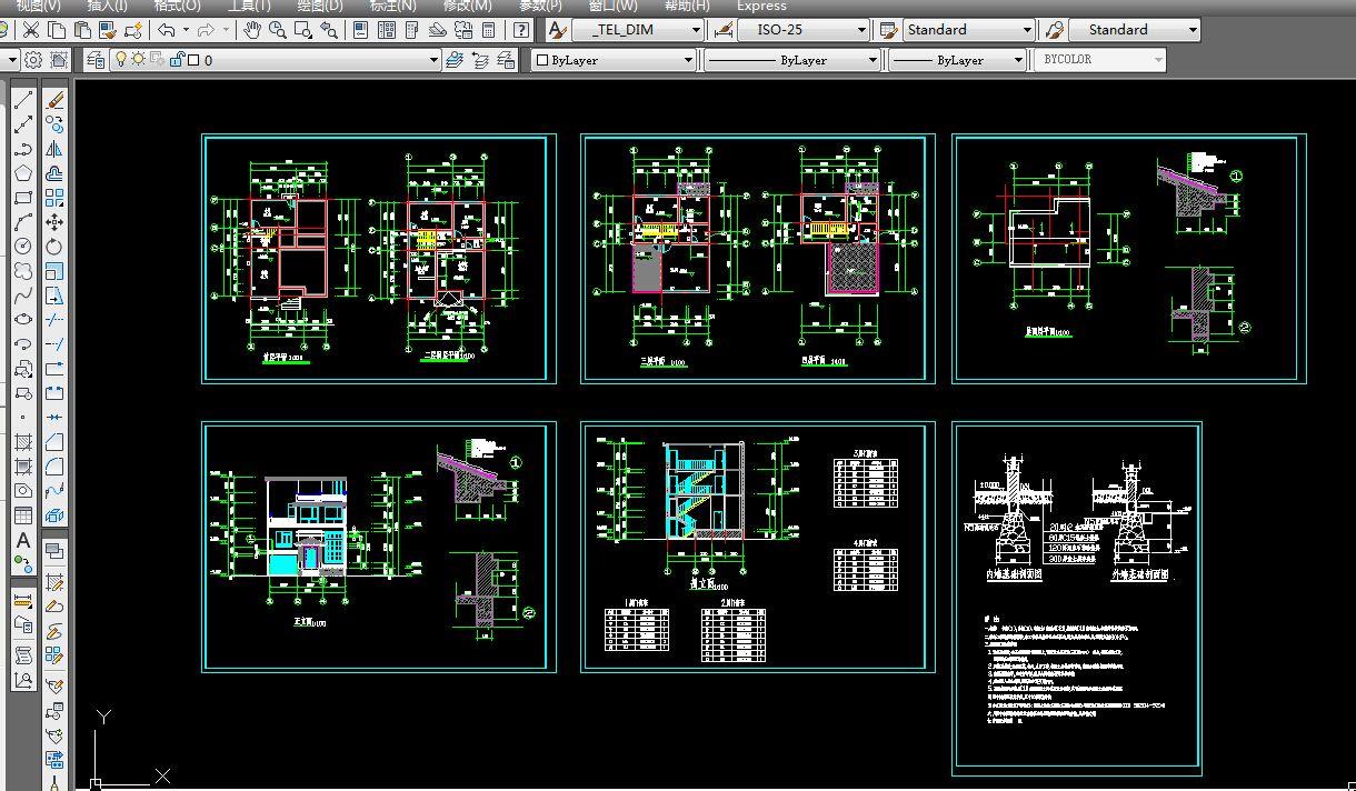 求农村房屋建设平面设计图.长11米宽9米.3层 100元左右都可以接受