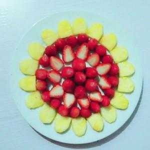 水果拼盘秀的做法步骤图,水果拼盘秀怎么做 -知识100题