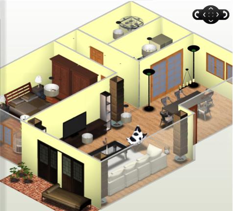 请问这种装修设计图是用什么软件做的 圆方,我家我设计,创想家居,72xu图片