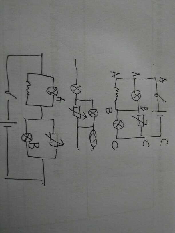 这种电路图怎么分析,高中物理,求专家解答