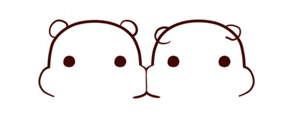 怎样画一只可爱的小仓鼠