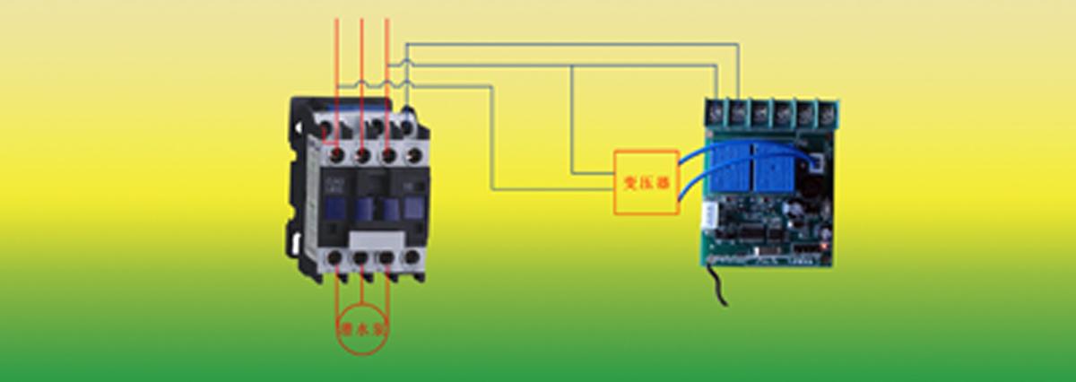 用24v控制380v接触器接线图,有启停按钮,启停指示灯,没有热继电器