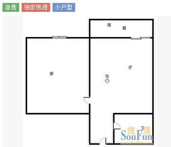 一个一室一厅60平米的房子,怎么改成两室的呢?