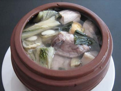 猪肺250克北杏10克食盐来源适量【咸肉】姜汁方如何自制民间圆图片