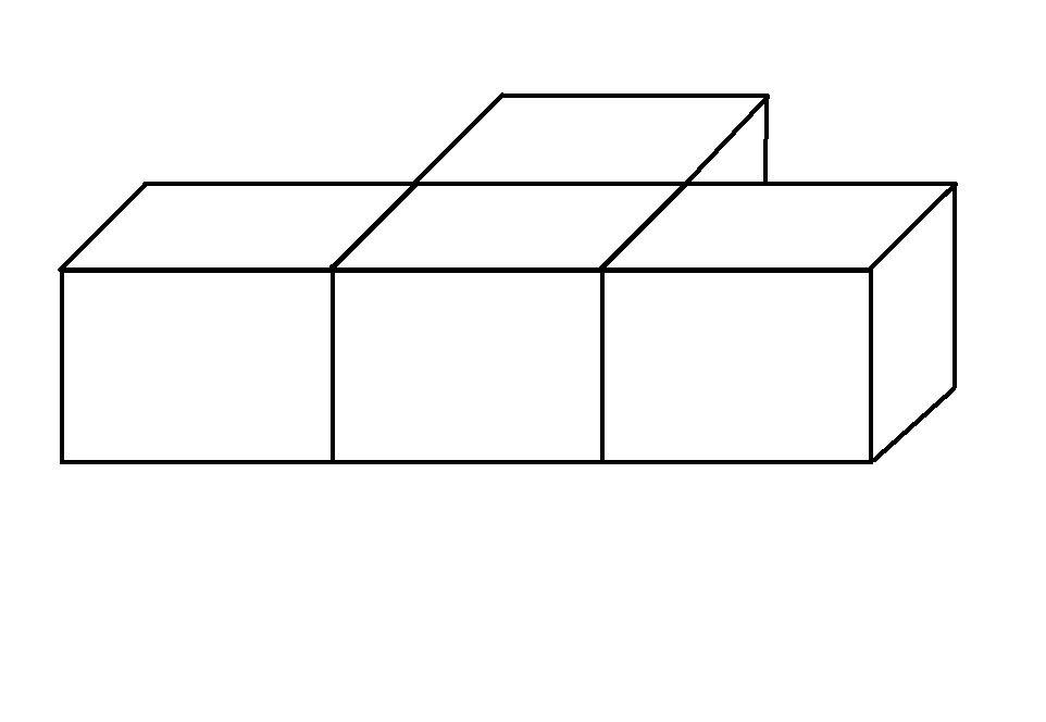 下面是由几个小立方体塔成的立体图形中,从正面和左面图片