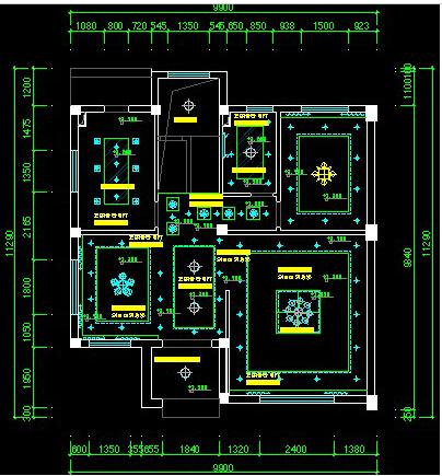 室内设计cad施工图及电路图怎么画?