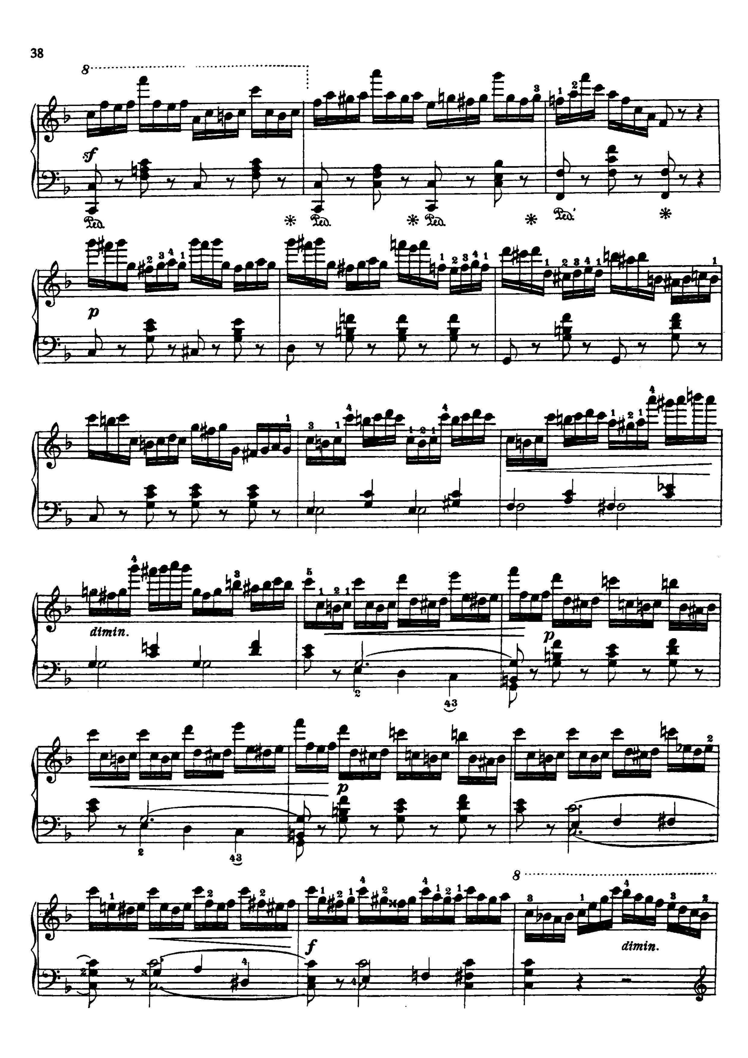 车尔尼740 第11条钢琴曲谱?急急急!