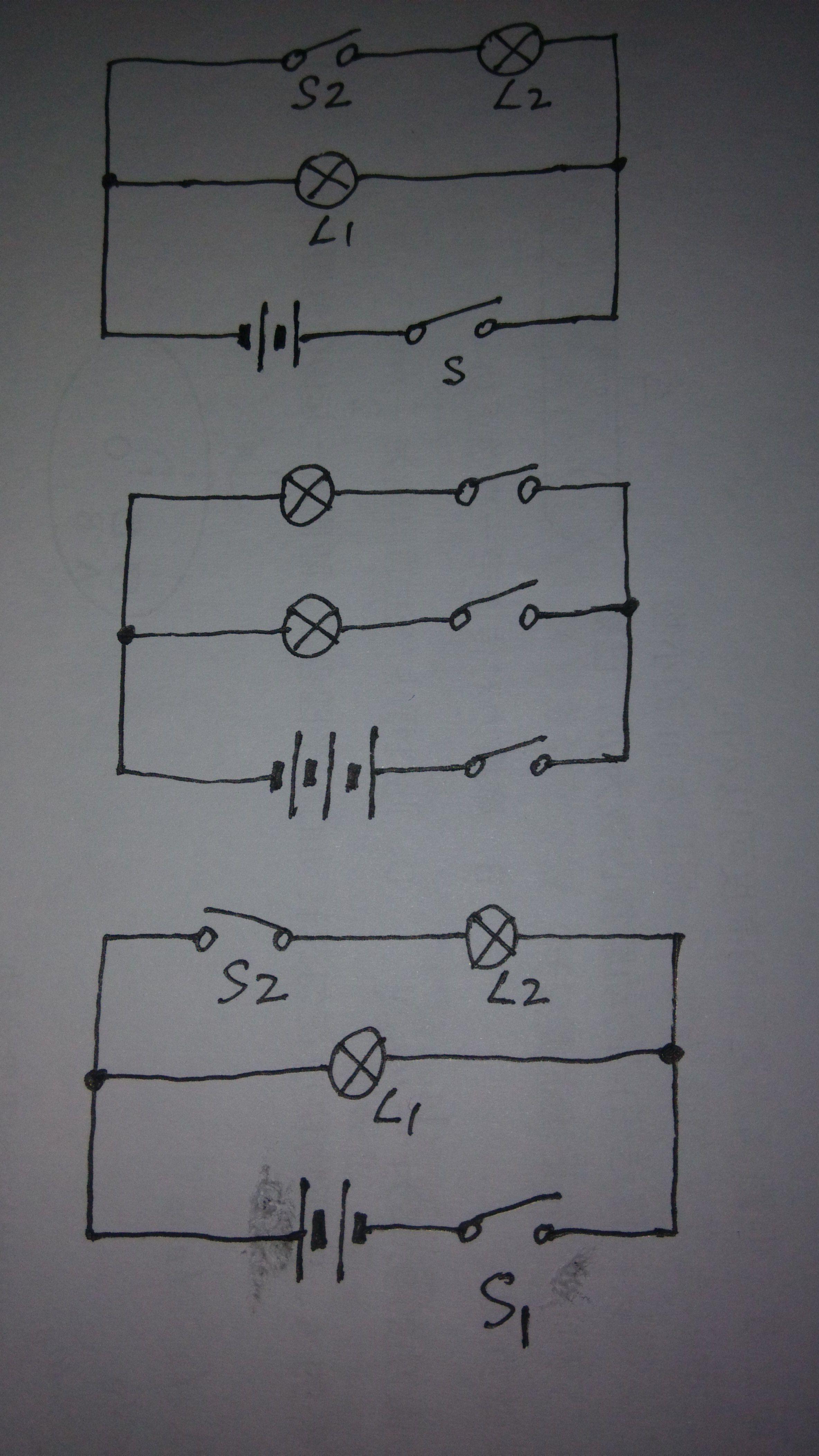 根据实物图,画出电路图,在线求解哦