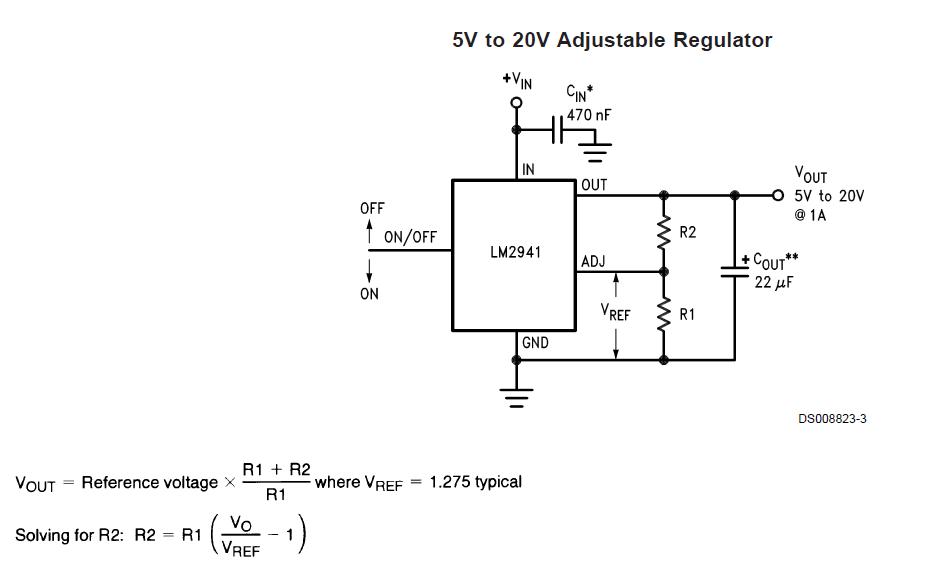 94v. 我接的电路应该是输出6v 的. 大家看看下图,哪里不对呢.