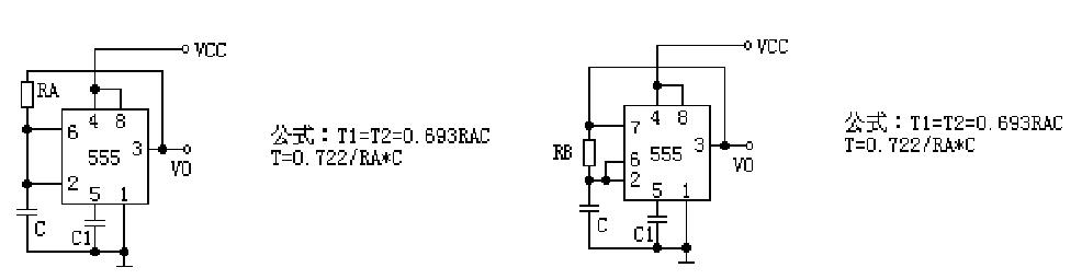 用555产生10hz的方波电路