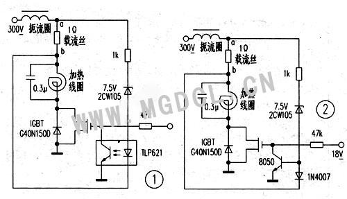 大功率电磁炉电路图(大于5kw,380v的)