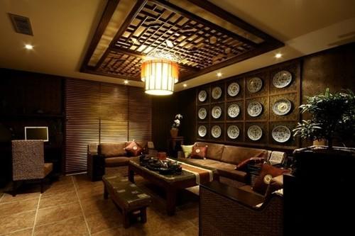 茶楼装修设计的介绍图片