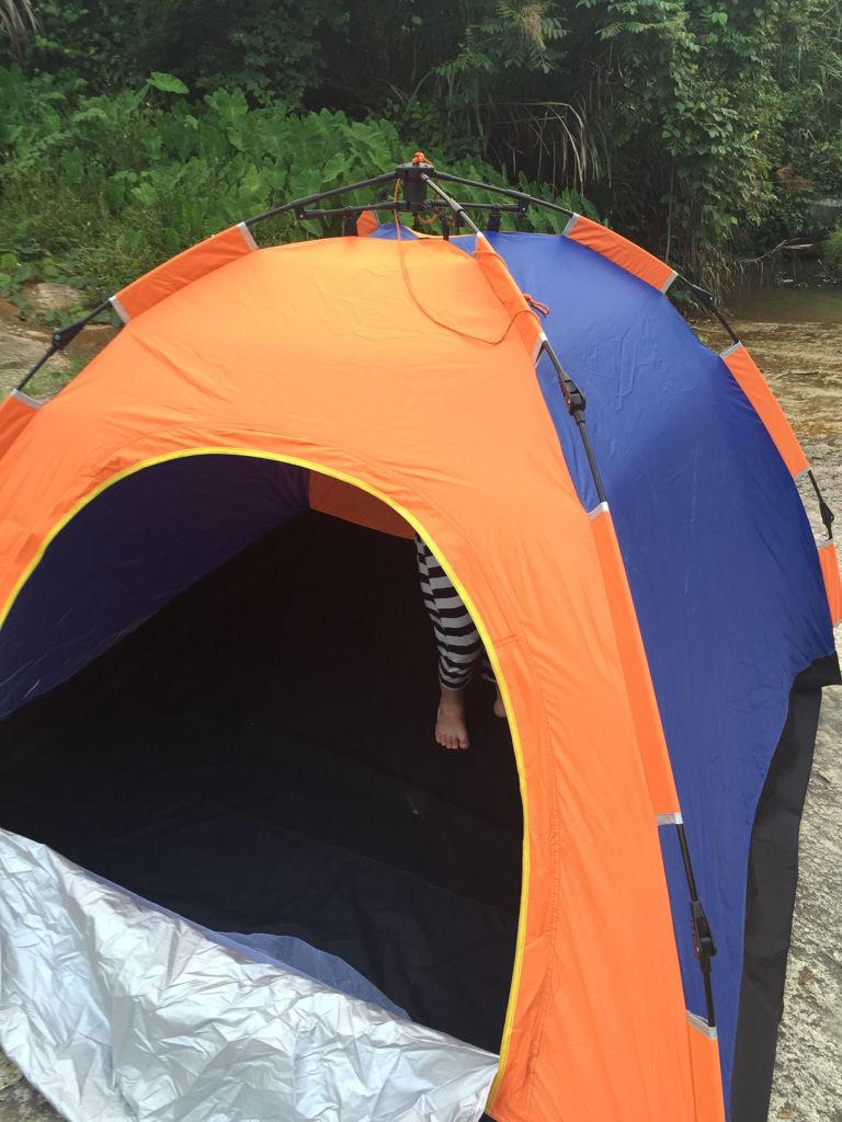 折叠帐篷怎么收,急