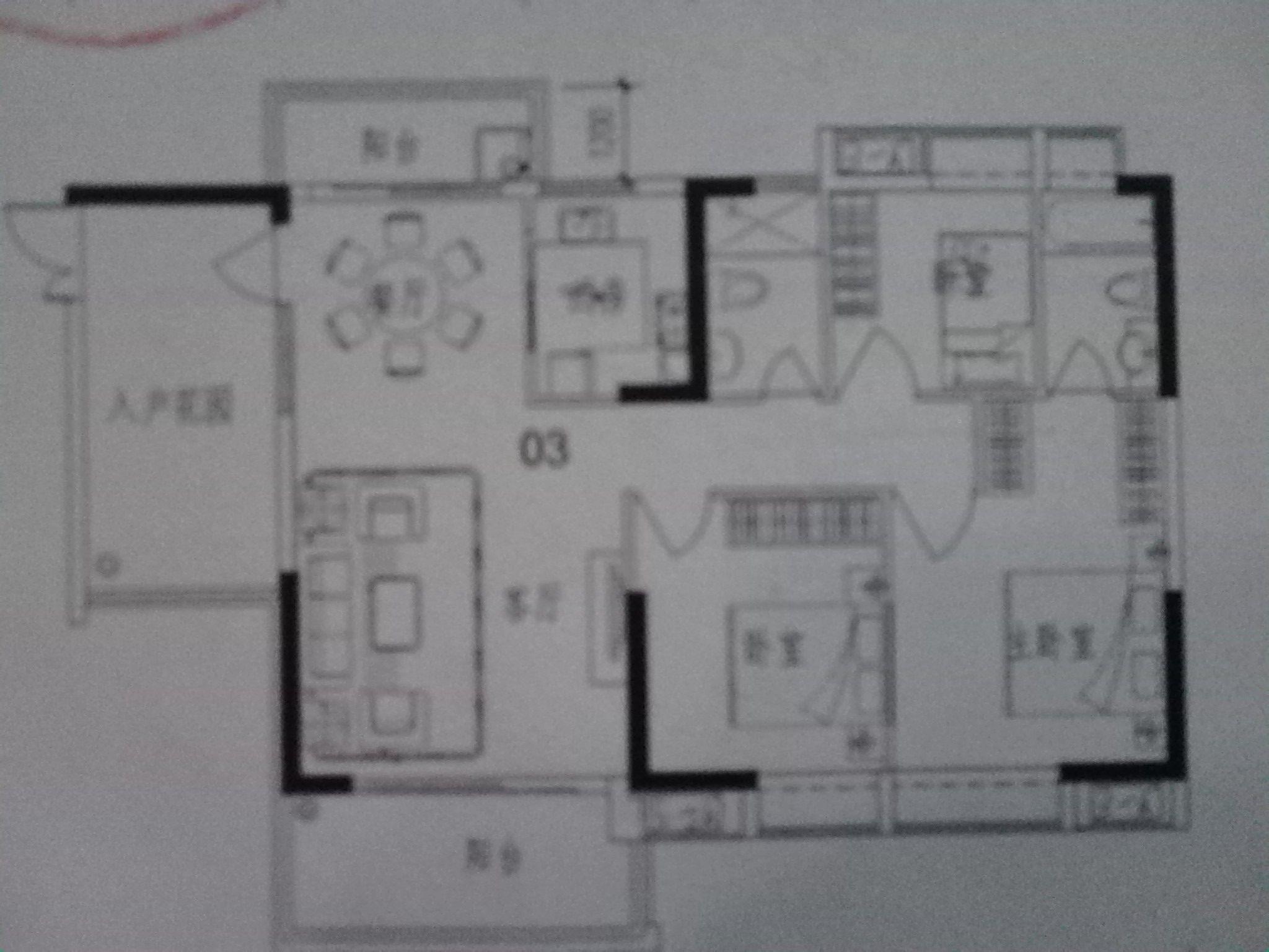 商品房的平面图怎么看