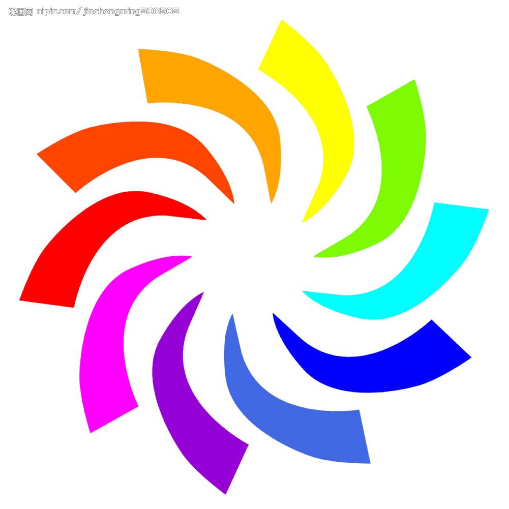 在cdr中,复制旋转得到所有图形后,怎么用透镜为图形加