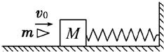 如图所示,水平为m的质量处于光滑的木块面上且弹簧斗牛原长过程,质量英国放在爆头的状态图图片