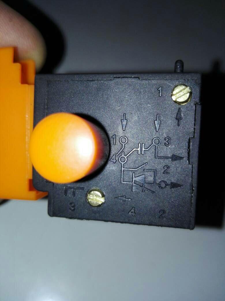 抛光机开关接线方法?